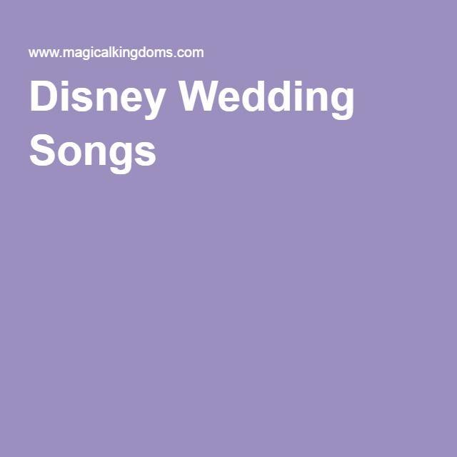 Disney Fairy Tale Weddings Information Guide