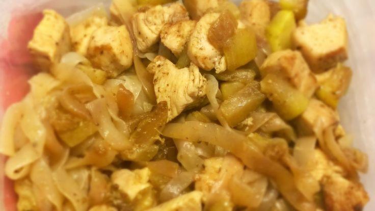 Cukkinis csirkemell NoCarb szélesmetélttel | Klikk a képre a receptért!