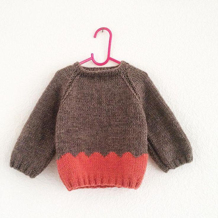 #knitting #kids #sweater #handmade