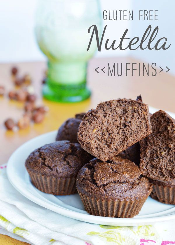 Recipe: Gluten free Nutella Muffins - Wholeheartedly Healthy UK healthy living and lifestyle blog with healthy recipes— Wholeheartedly Healthy