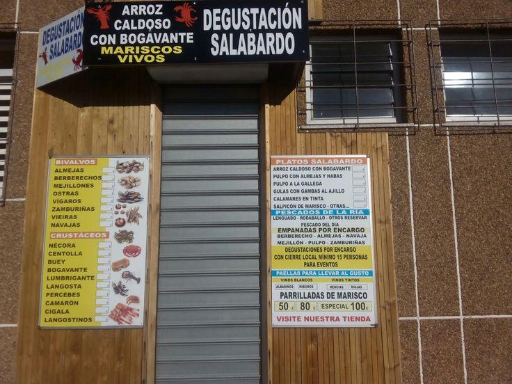 Como podéis ver tenemos de todo: #bivalvos #crustáceos #mariscos #pescados #parrilladas #paellas #menús 🐟🐙 ¿A qué esperáis para visitarnos? Os esperamos en MercaMaris Depuradora & Cetárea de Mariscos Gallegos a Domicilio #Corcubión #CostaDaMorte #GaliciaCalidade