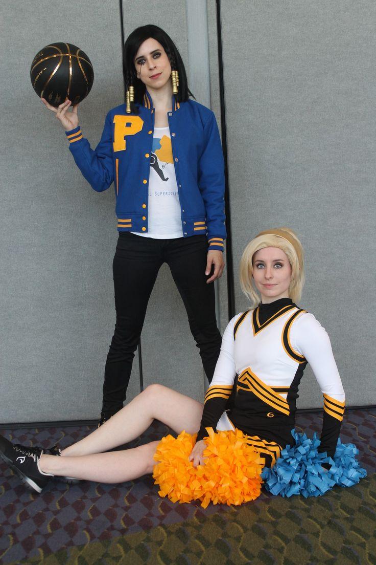 Overwatch MegaCon Cosplay - High School Pharah & Mercy