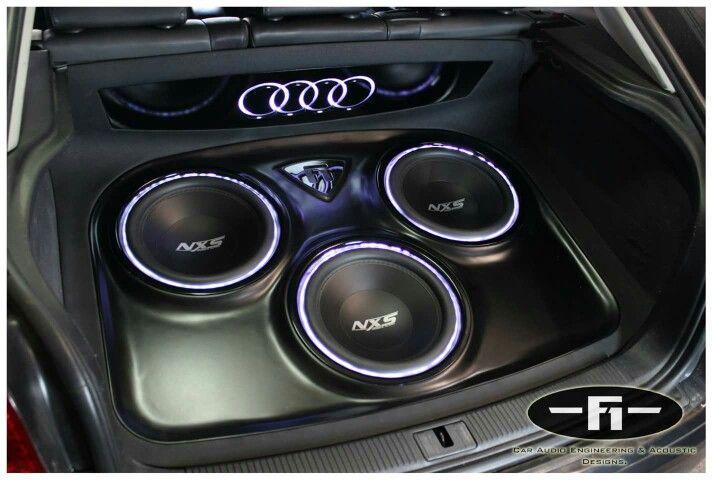 3 12 Quot Nxs Subs In Audi A3 Car Audio Pinterest Audi