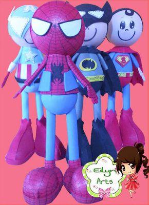 fofuchos superheroes. EilynArts