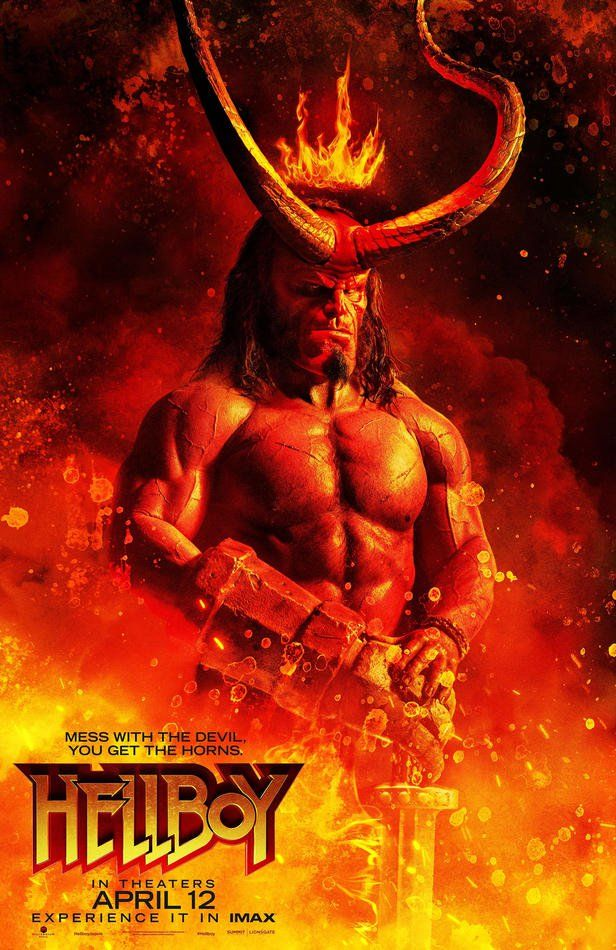 Pin By Kervin Massicott On I Am Rocket Raccoon With Images Hellboy Movie Hellboy Film Movie Posters