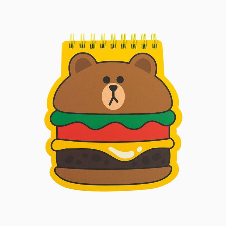 [NEW] LINE FRIENDS STORE OFFICIAL GOODS Character Spring Note Collection…