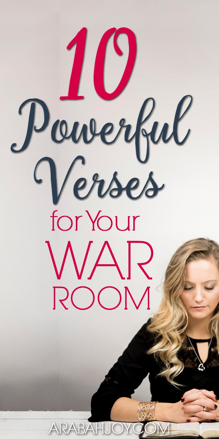 10 Powerful Scriptures For War Room Prayers Free Printable Prayer Strategies War Room Prayer Powerful Scriptures
