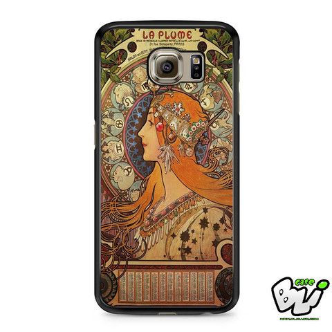 Aphonse Mucha Samsung Galaxy S7 Edge Case