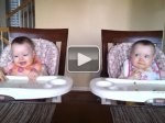 11-month-old twins dancing to daddy's guitar(love the way they look at each other !): Babies, Twin Dance, Twin Girls, Twin Baby, Daddy Guitar, Videos, Baby Girl, Twin Babies, Watches
