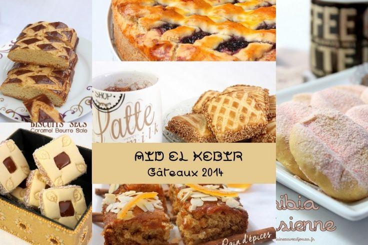 Index des recettes de gâteaux à préparer pour l'Aid el kebir : voici un panaché des gâteaux algériens et gâteaux orientaux, traditionnels ou modernes pour