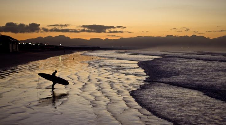 Morning Muizenberg Surf