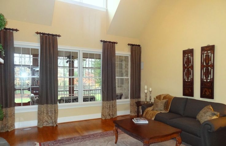 Greensboro Interior Design - Window Treatments Greensboro - Custom Window Treatments