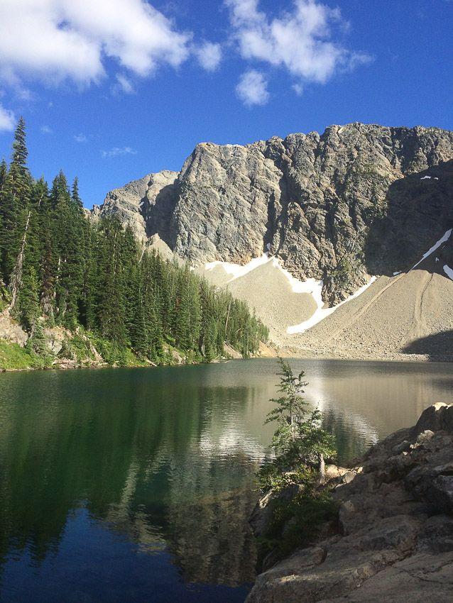 Blue Lake - Winthrop Washington