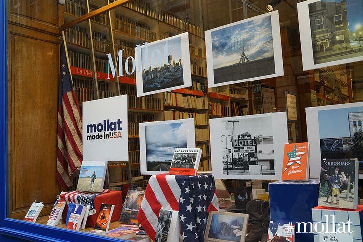 """À l'approche des prochaines élections présidentielles américaines et du cycle """"Mollat made in USA"""", les États -Unis sont à l'honneur dans la grande vitrine de la librairie > https://www.mollat.com/evenements/les-voix-de-la-pensee-5-les-fondements-intellectuels-de-la-pensee-americaine"""