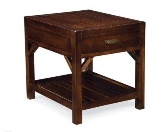 Thomasville End Tables set of 2 Thomasville Furniture Wanderlust Drawer End Table ...