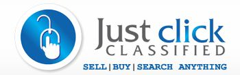 Sell, buy, or search for any Product, post free Ads, buy used Cars, Mobiles or to get best deals must try our classified advertising site justclickclassified.com
