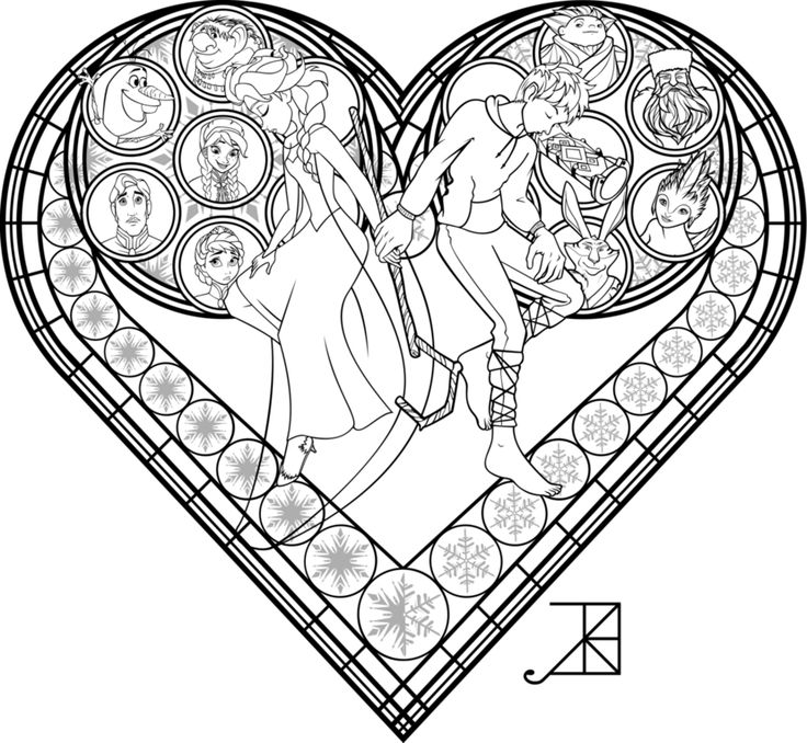 190 best coloring images on Pinterest Coloring books, Vintage - copy disney love coloring pages