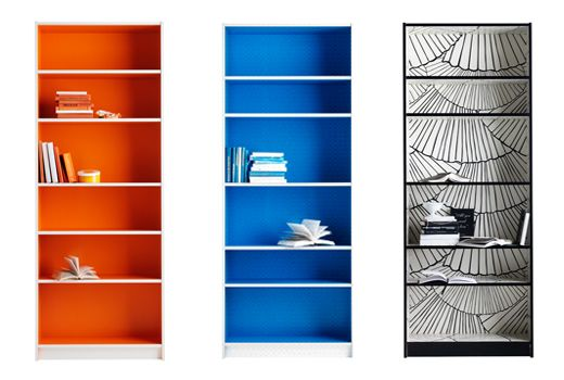 if (when) i end up with a boring old bookshelf, this is how i might prettify it. -_-