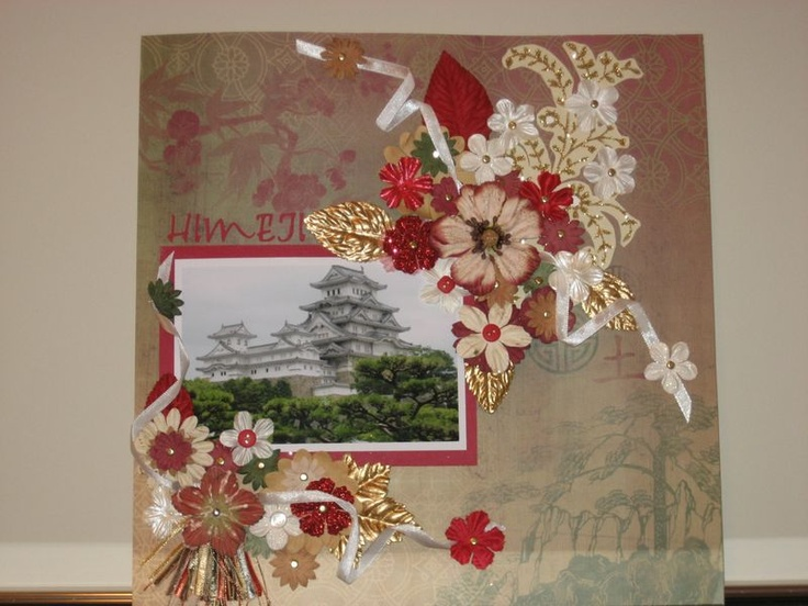 scrapbook pages of Japan - Google Search