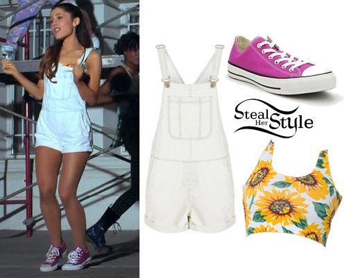 "I absolutely love this outfit that Ariana Grande wore in her ""Baby I"" Music video. I have the shoes just need the rest."