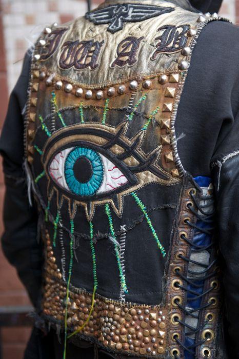large embroidery details, jacket