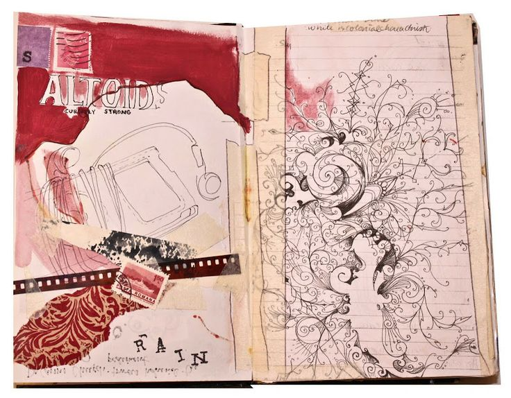 Lauren Spindle : Artist Blog: Sketchbook 3: 2007