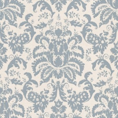 Eco Tweed (9779) - Eco Wallpaper Wallpapers - A distressed all over damask design on a fabric effect background – perfect for that shabby chic look. Shown here in duck egg blue and soft cream, also available in other colour ways. Please request sample for true colour match. Paste-the-wall product.