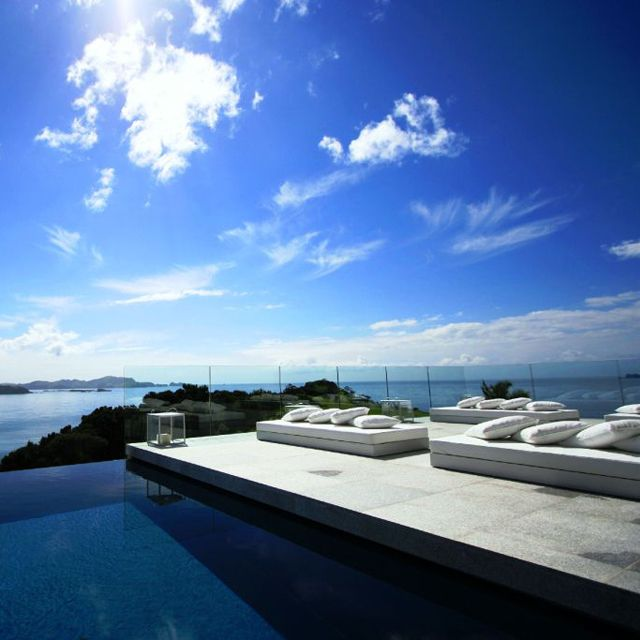 This.Eagles Nests, Favorite Places, Bays, Dreams House, Islands, Newzealand, Pools, Luxury Hotels, New Zealand