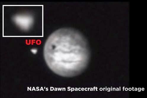 PLANETA CERES - Sonda Dawn da NASA chega ao Planeta e Captura Imagens de UFO