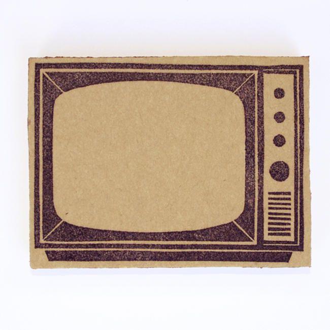 【楽天市場】史緒スタンプ 消しゴムハンコ 懐かしのテレビ:HREM