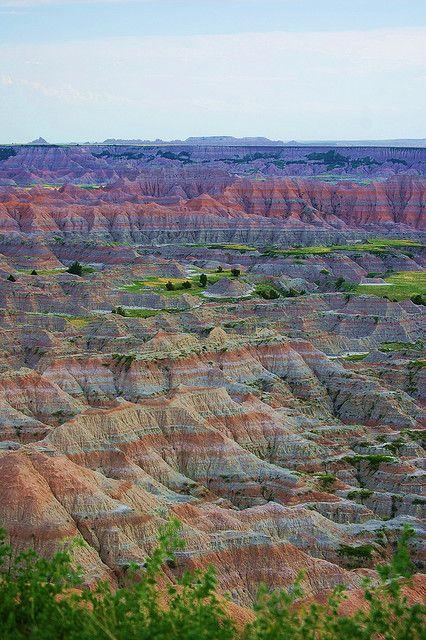 The Badlands, South Dakota - USA