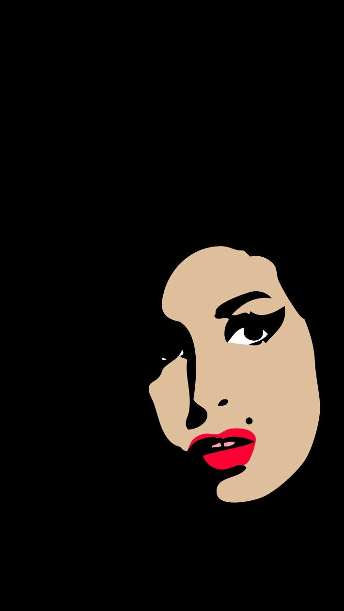 rip7amy23winehouse11: f–kmodernart: I went to the cinema today to see 'Amy', the documovie. Terrific and moving. What a girl! What a shame… This is my homage to her.