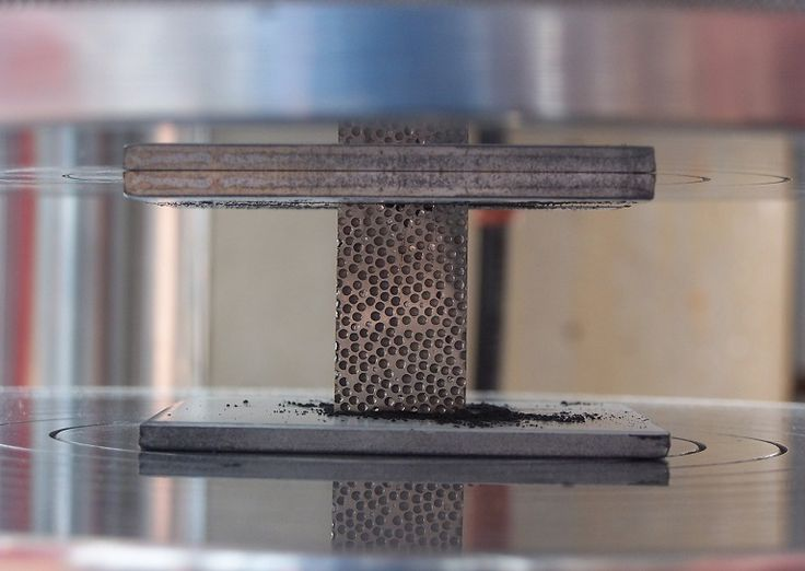 A new composite metal foam (CMF) is tough enough to resist the force of a bullet, disintegrating it into minute particles upon impact