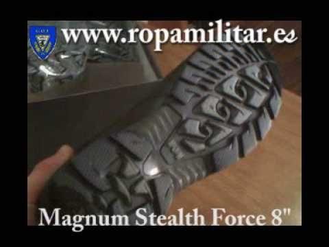 Botas Magnum Stealth Force Valencia | Botas Magnum Stealth Forc en Valencia España