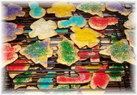 My mom has made these thin, crispy cut-outs at Christmas for as long as I can remember. The same treats could be found at both Grandma Sara and Grandma Losch's homes in December each year. When I m...