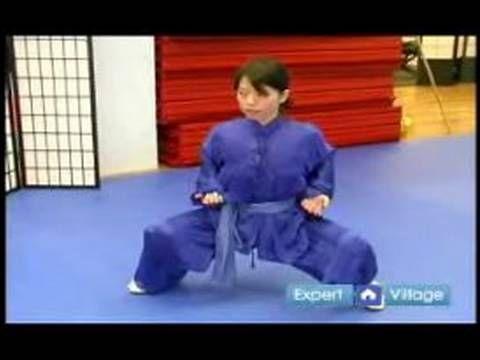 Beginner Wushu Techniques : Five Stances of Wushu