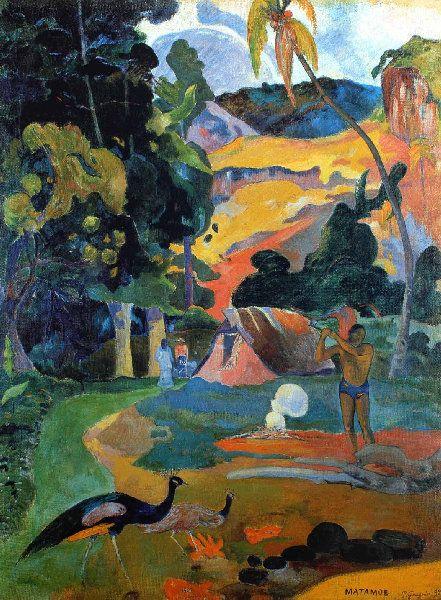1892 – LE PAYSAGE AU PAON