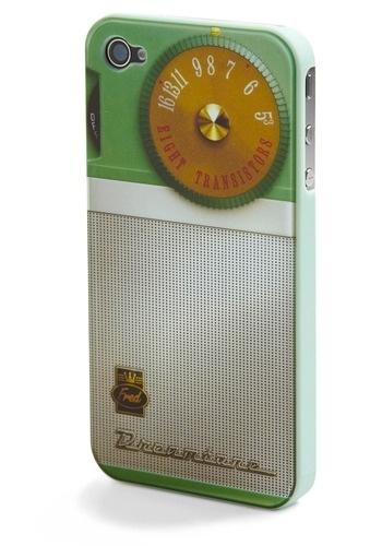 Old School Rules iPhone 4 Case in Soundbite | Mod Retro Vintage Electronics | ModCloth.com - StyleSays