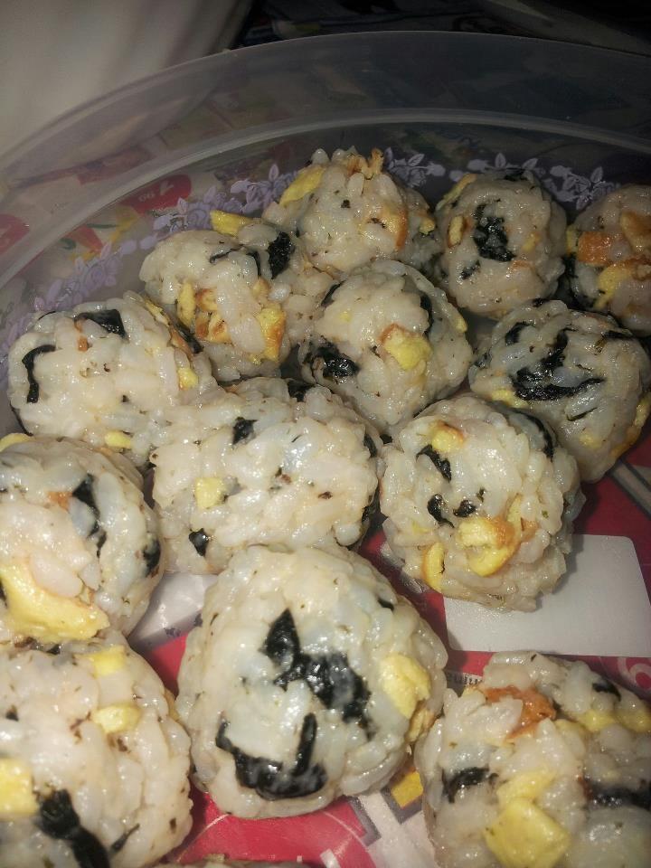 rice ball: