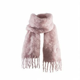 Balmuir | Kid Mohair huivi, silver pink