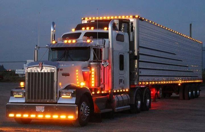 Kw Chicken Lights Small Trucks Big Rig Trucks Semi Trucks