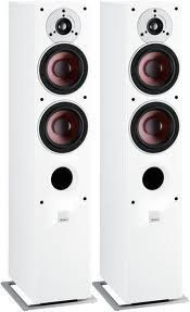 DALI - ZENSOR 5 - Floorstander Speaker in White (pair) by Dali. $1075.00. Today, we expect that little extra care and attention, when it comes to performance, visual appearance, and details. The ZENSOR 5 comes up to these expectations. The ZENSOR 5 front baffle features the exclusive ZENSOR high-gloss lacquered finish, while high-grade vinyl adds an inviting and smooth look to the cabinet made of medium density fibreboard, incorporating soundproof material an...