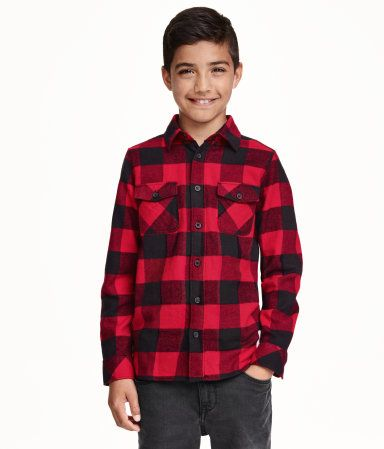 Checked Flannel Shirt| H&M US