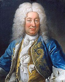 Frederick I, Swedish: Fredrik I, (17 April 1676 – 25 March 1751) was prince consort of Sweden from 1718 to 1720, and King of Sweden from 1720 until his death and (as Frederick I) also Landgrave of Hesse-Kassel from 1730. He ascended the throne following the death of his brother-in-law, absolutist Charles XII in the Great Northern War, as his sister and heir Ulrika Eleonora preferred to abdicate from her position as queen regnant after relinquishing most powers to the Riksdag of the Estates.