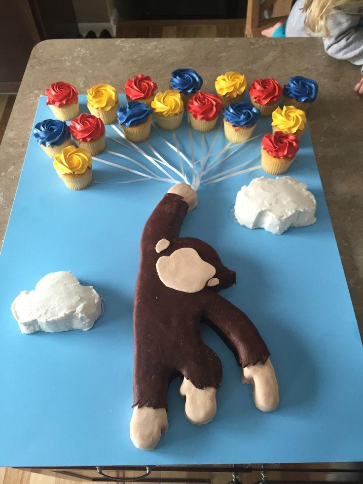 Curious George bday cake! #OJ4Bday