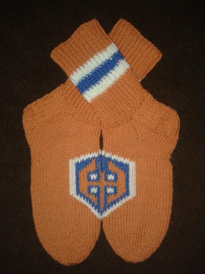 <3 Tappara villasukat socks