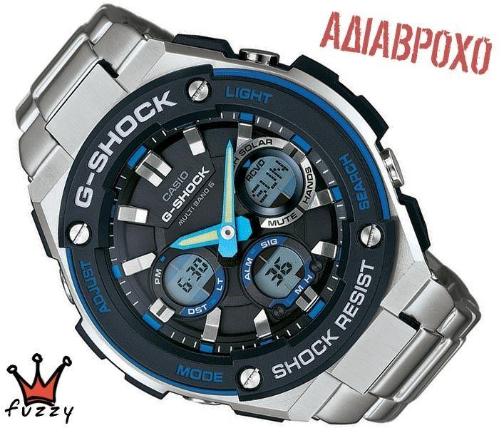 Ρολόι ανδρικό Casio G-SHOCK (GST-W100D-1A2ER)