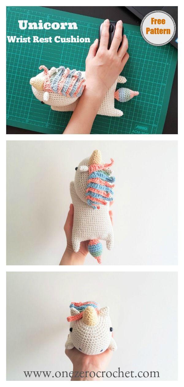 10+ Crochet Unicorn with Free Patterns