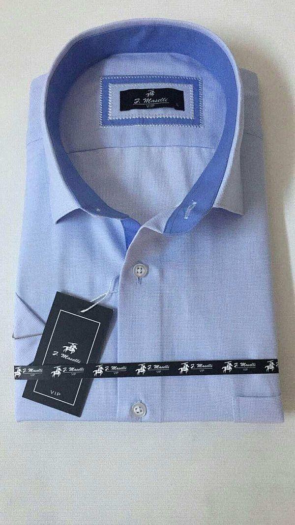 Изготовитель:    Maselli(Турция) Материал:    коттон Стиль:    классика  Принт:    абстрактный Тип кроя:    классический Рукав:    короткий  Цена за ед.:    7.80 $  Цена за упаковку.:    39.00 $   Количество в упаковке:    5 Моделька:голубая с голубой отделкой (Артикул: 00084-2640)