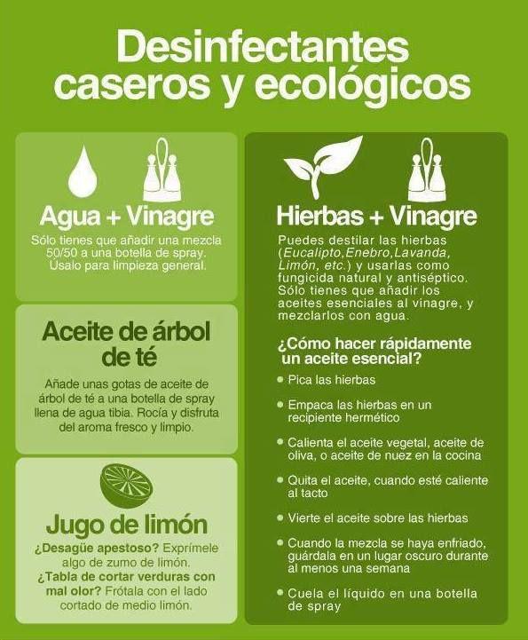 Usa lo natural para limpiar en casa.